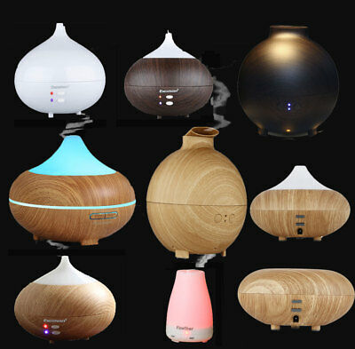 AU25.99 • Buy LED Oil Ultrasonic Aroma Aromatherapy Diffuser Air Humidifier Purifier Fragrance