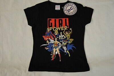 £5.99 • Buy Girl Power Dc Comics Exhibition Child Kids T Shirt New Official Supergirl