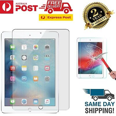 AU8.43 • Buy Apple IPad Air 1st 2nd 3rd IPad 5th 6th 7th Gen Tempered Glass Screen Protector