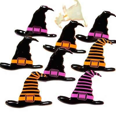 $2.25 • Buy Witch Hats Brads   ** See My Store ** 2 Colors  Halloween  Eyelet Outlet