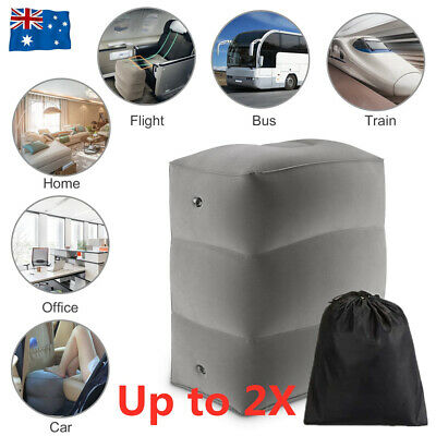 AU15.99 • Buy Inflatable Foot Rest Travel Plane Cushion Office Home Leg Pillow Relax Support