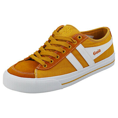 Gola Quota 2 Womens Sun Leather & Textile Casual Trainers • 26.99£