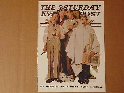$ CDN10.14 • Buy Saturday Evening Post Sept 26,1936  (REPRINT) Norman Rockwell (COVER ONLY)