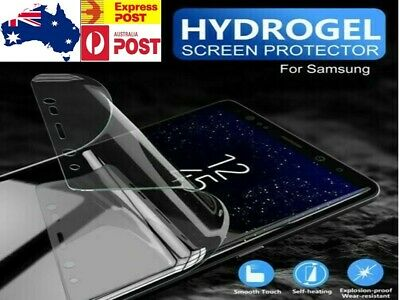 AU3.89 • Buy Samsung Galaxy S20 S10 S8 S9 Plus Note 9 10 HYDROGEL Full Cover Screen Protector