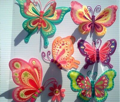 AU11.95 • Buy 3D Removable Butterfly Art Decor Wall Stickers Kids Room/ Decals For Girl