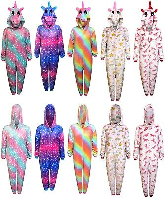 AU32.03 • Buy Unicorn 1Onesie Womens Pyjamas Ladies Sleepsuit Animal Adult Jumpsuit Costume