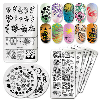 $0.73 • Buy PICT YOU Nail Art Stamping Plates Geometric Line Wave Image Stamp Template Tool