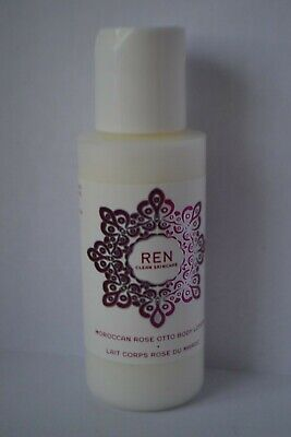£3.99 • Buy REN Clean Skincare Moroccan Rose Otto Body Lotion Travel Size 50ml Bottle