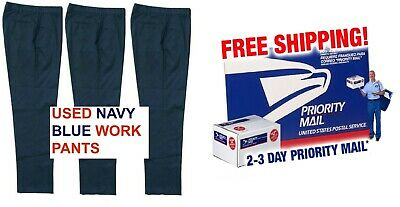 $24.99 • Buy Uniform Work Pants - Pack Of 3 - Free Air Shipping -Free Fast Shipping