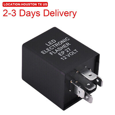 $9.99 • Buy US Location 5-Pin EP27 FL27 LED Flasher Relay Fix Turn Signal Hyper Flash Issue