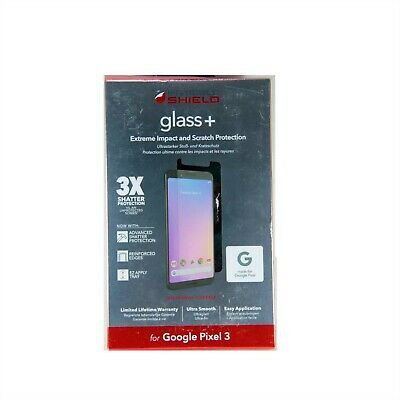AU19.95 • Buy Zagg Screen Protector For Google Pixel 3 Invisible Shield Glass+ New 200301952