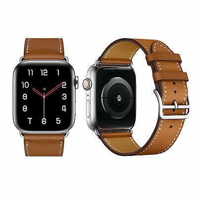 $ CDN9.88 • Buy Leather Band Strap For Apple Watch Series 5 4 3 2 1  42mm