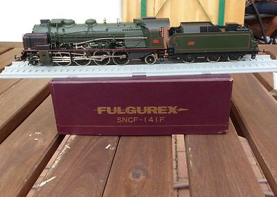 AU1713.40 • Buy Fulgurex 2030 Steam Locomotive 141.f 282 SNCF With Rp 25 Wheels Boxed, Used