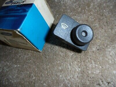 £20 • Buy Ford Escort Mk4 Front Heated Rear Window Switch For L.H.D....N.O.S Brand New...