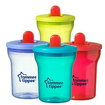 Tommee Tippee Essential Basics First Beaker Free Flow Cup 200ml 4m+ • 7.90£