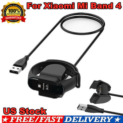 For Xiaomi Mi Band 4 Smart Bracelet USB Clip-on Charging Cable Dock Charger HOT  • 6.29$