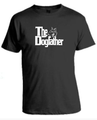 The Dogfather English Bull Terrier Godfather Funny Gift T-Shirt • 8.50£