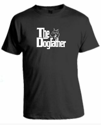 £8.50 • Buy The Dogfather T-Shirt English Bull Terrier Godfather Funny Pet Clothing Gift