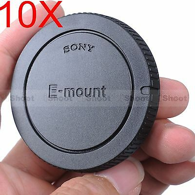 $ CDN13.81 • Buy 10x Body Cover Cap For Sony E-mount Micro SLR Camera A7II A7 A6000 A5100 A5000