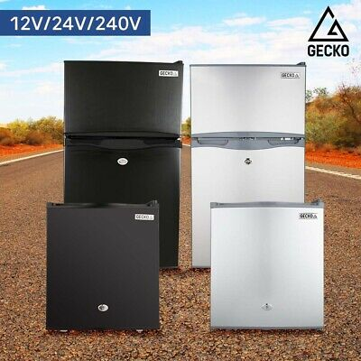 AU469 • Buy GECKO Portable Fridge Freezer Cooler Camping 12V/24V/240V For Caravan Car Boat