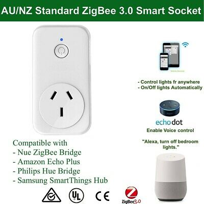 AU43 • Buy Echo Plus Philips Hue Compatible Smart ZigBee Socket Plug For Home Automation
