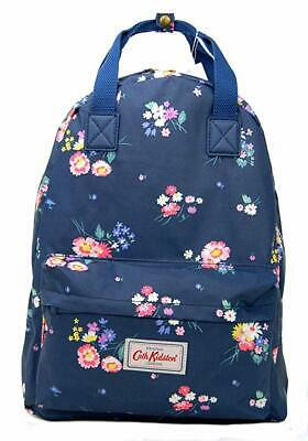 Cath Kidston Rucksack/Backpack In Busby Bunch Navy Oilcloth • 34.95£