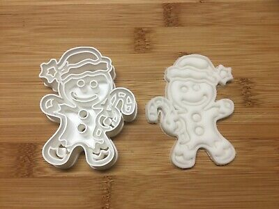 Christmas Gingerbread Man Cookie Cutter,Biscuit, Pastry, Fondant, Bread Cutter • 4.99£