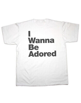 Sherbet Dip I Wanna Be Adored T Shirt • 16.99£
