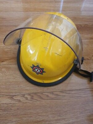 £65 • Buy Bullard Fire And Rescue Helmet With Face Shield