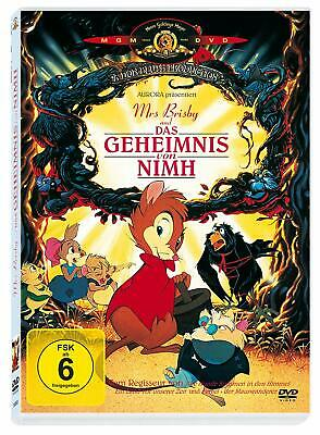Mrs. Brisby And The Secret Of NIMH - Don Bluth Cartoon - NEW UK REGION 2 DVD PAL • 23.99£