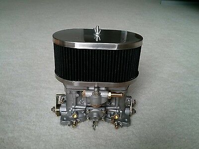 $ CDN251.93 • Buy 40IDF Carburetor With Air Horns And Air Filter Interchange With Weber Parts