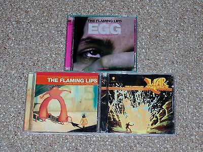 $ CDN19.99 • Buy Lot Of 3 The Flaming Lips CDs: EGG Yoshimi Battles The Pink Robots More