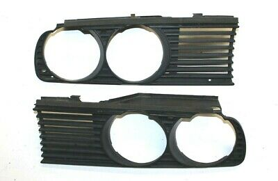 $34.95 • Buy Bmw Oem E30 Headlight Grille Trim Set Driver Passenger Grilles Right Left Vent