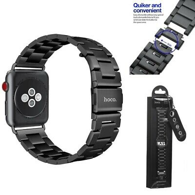 $ CDN88.84 • Buy Watch Strap For Apple IWatch Band Series 1 2 3 4 Stainless Steel Metal Watchband
