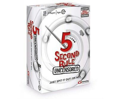 AU25.43 • Buy 5 Second Rule Uncensored, GF004 Card Game (Adult)-GF004