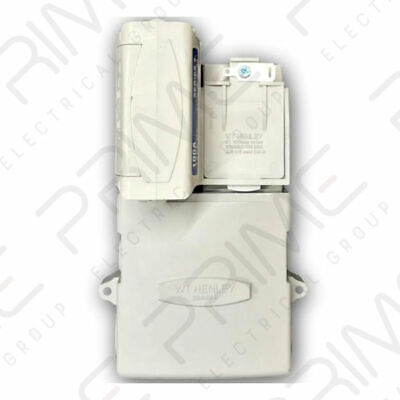 £37.45 • Buy Henley 54367-42 Series 8 Service Cut Out & Protection Chamber SP&N - 100 Amp