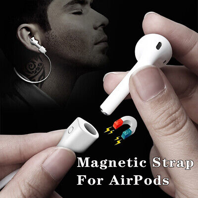 $ CDN2.39 • Buy Magnetic For Apple AirPods Strap Anti-lost Airpods Loop String Rope Connector Yb