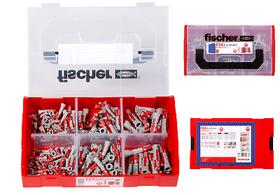 Fischer High Performance Duo Wall Plug DuoPlug Power Nylon Plugs Mixed Case Set • 19.80£