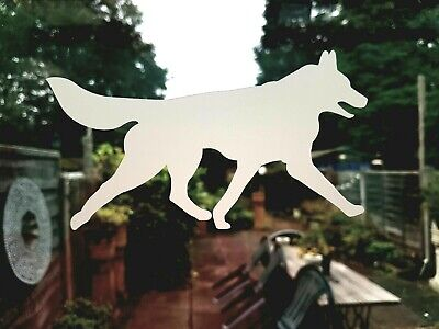 £2.29 • Buy SIBERIAN HUSKY DECAL For Car, Walls, Glass Safety Sticker, Sled Dog Huskies Wolf
