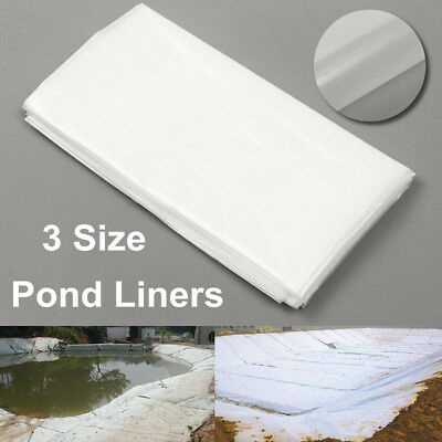 3.5m White Fish Pond Liner Garden Pool HDPE Membrane Reinforced Landscaping  U • 19.37£