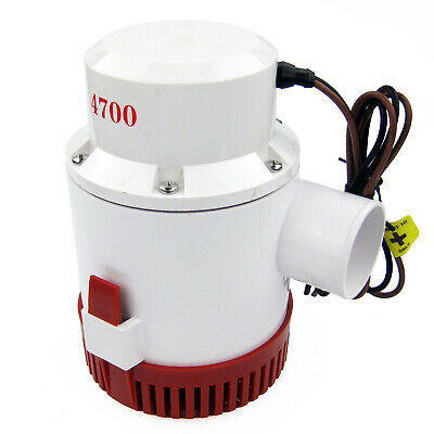 AU109.99 • Buy 12V 4700 GPH Bilge Pump Boat Marine Yacht Submersible Water Pump
