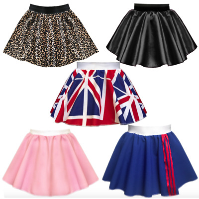 Plus Size SPICE GIRLS Costume Fancy Dress GINGER BABY POSH SCARY SPORTY Skirt • 9.99£