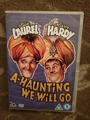 A Haunting We Will Go Dvd Stan Laurel Oliver Hardy Dvd Retro  • 14.99£