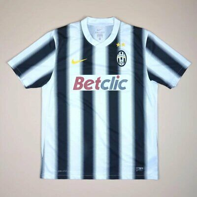 £64.99 • Buy Juventus Italy 2011/2012 Home Football Shirt Jersey Nike Size L Adult