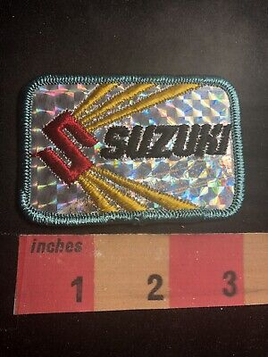 $6.97 • Buy SUZUKI MOTORCYCLE Patch (Version With Red S And Yellow Rays) 00ML