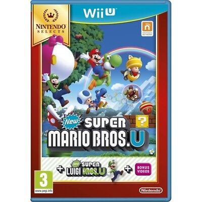 AU41.95 • Buy New Super Mario Bros Game + New Super Luigi Wii U Game PAL New Sealed In Stock