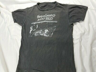 $350 • Buy Hunter S Thompson Fear & Loathing Las Vegas Ralph Steadman 70s 80s Shirt