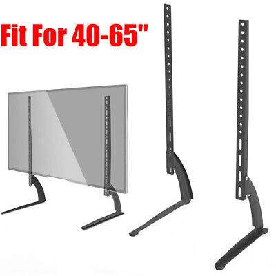 Table-top Universal TV Stand Base Holder Pedestal Mount LCD LED 40-65  Flat NEW • 13.98$