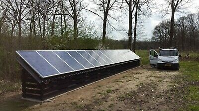£3900 • Buy 3kw Off Grid Solar Panel Kit With Batteries (heavy Duty)