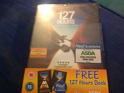127 Hours - Asda Exclusive [DVD] - DVD  1ELN The Cheap Fast Free Post • 19.99£